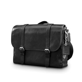 쌤소나이트 Samsonite Mens Leather 1910 Heritage Messenger