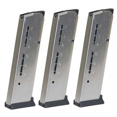 Wilson Combat 1911 8RD 45ACP Elite Tactical Magazines 3 Packs + Pouch