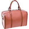 Deals on McKlein USA Throop Travel Leather Duffel